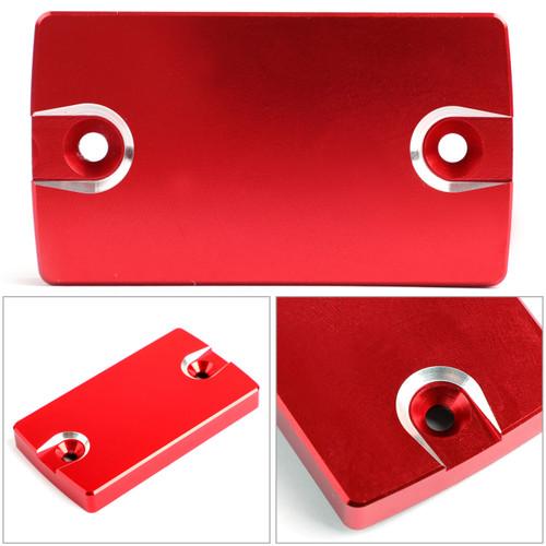 CNC FRONT Brake Fluid Reservoir Cap For Suzuki GSR 250 400 750 06-17 DL650 Red