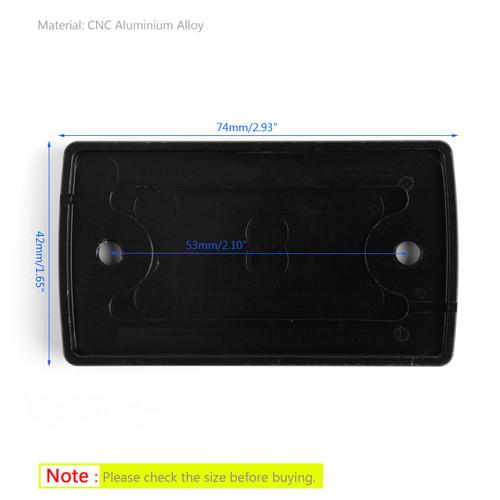 CNC FRONT Brake Fluid Reservoir Cap For Suzuki GSX-S750 16-18 DL650 04-17 VanVan 200 03-13 Black