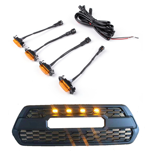 TRD Pro Grill Grille LED Lights for Toyota Tacoma 2016-2019 PT228-35170