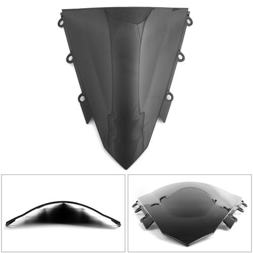1 piece ABS Windscreen Windshield for Honda CBR500R 2013-2017 Black