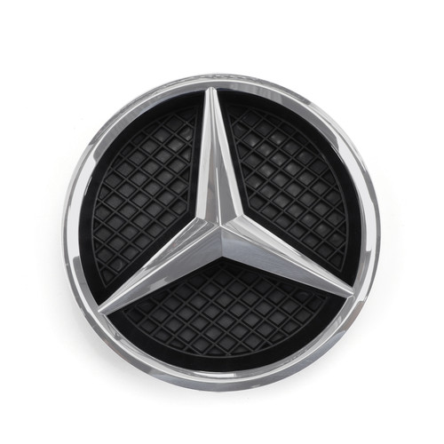 Front Diamond Star Grille Grill For Benz W117 CLA Class 2013-2016 Silver