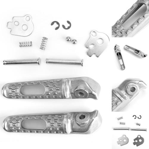 Rear Foot Peg Footrest For Honda CBR1000RR 04-14 CBR600RR 03-14 CB1000R 08-11 VTR1000 SP-2 02-06 CBR1000S 14 Silver