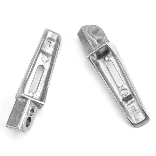Rear Foot Peg Footrest For Suzuki GSXR600 GSXR750 06-14 GSXR1000 05-14 Silver