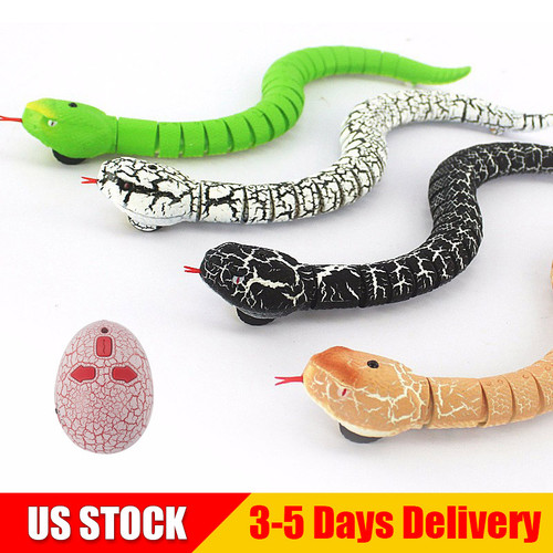 Remote Control Snake Rattlesnake Animal Trick Terrifying Mischief Random