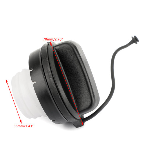 Gas Fuel Tanks Filler Cap For Honda Civic 06-15 CR-V 07-14 Accord 08-15 Crosstour 10-15 Black
