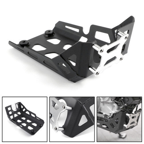 Bash Skid Plate Engine Guard Protector for BMW G310GS G310R 17-20 Black