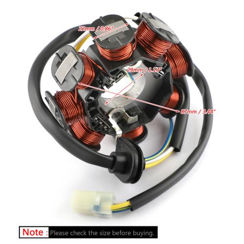 Alternator Stator Coil Fits For Kawasaki KFX90 KSF90 07-20 Kymco Mongoose 90 07-18