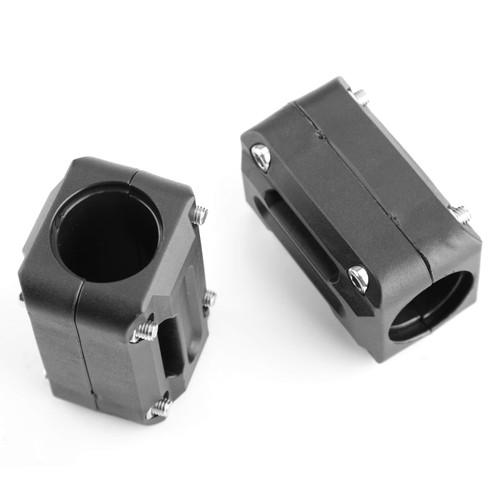 22mm 25mm Engine Frame Bar Protection Guard Ground Crash Slider Pads