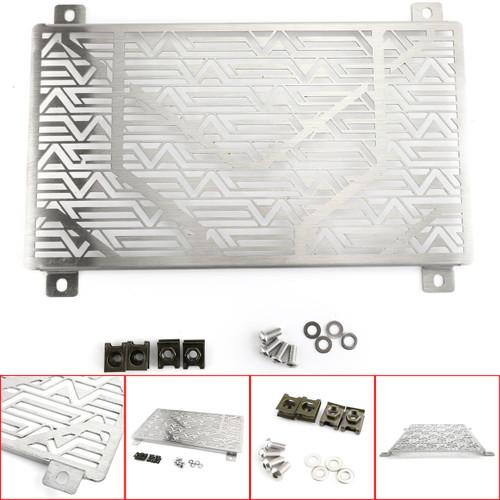 Radiator Cooler Grille Guard Cover Protector Fit For Kawasaki EX400 Ninja 400 EX250 Ninja 250 18-20 Silver
