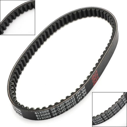Drive Belt For Honda NCH50 Metropolitan 2012-2015 Black