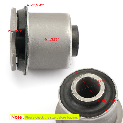 Front Differential Axle Bushing For Hummer H3 06-10 H3T 09-10