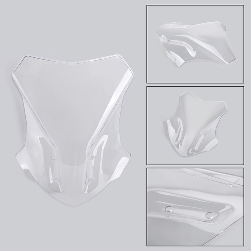 ABS WindScreen Windshield Screen for BMW G310GS 17-18 Clear