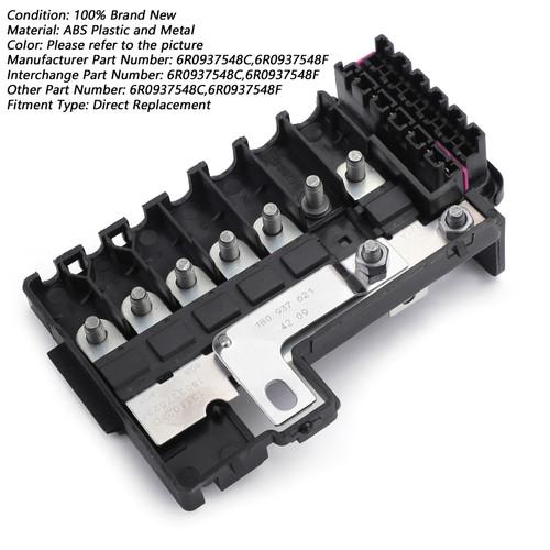 Fuse Box Battery Terminal For VW Jetta MK6 VW Polo 11-15 VW UP 11-18 VW Sangtana 10-15 Skoda Fabia Rapid Octavia 13-15 Black