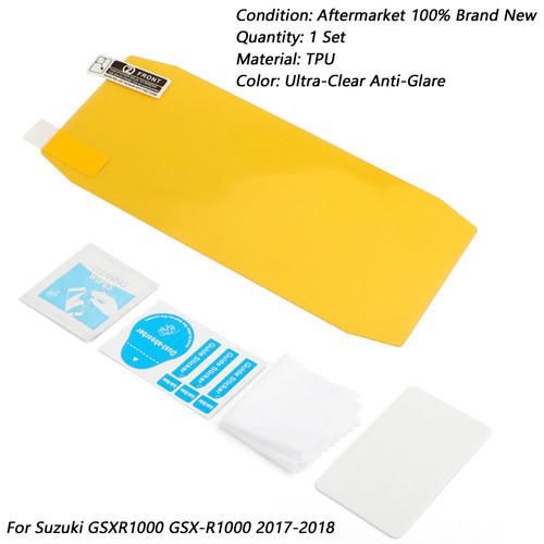 Cluster Scratch Dashboard Screen Protector For Suzuki GSXR1000 GSX-R1000 2017-18