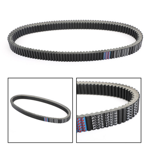 Primary Drive Clutch Belt For Arctic Cat 600 M7000 ZR7000 Black