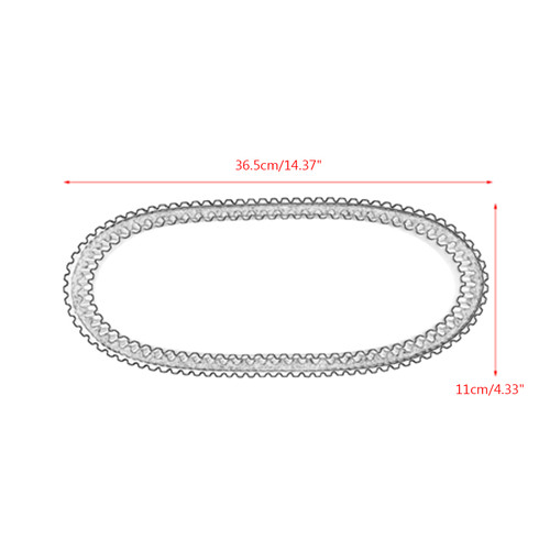 Primary Drive Clutch Belt For Arctic Cat 150 09-17 Kymco MXU150 05-15 MXU150X 16-18 MXer 150 03-05 Textron Alterra 150 18-19 Black