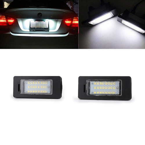 LED License Plate Number Lights BMW 5 Series E39 E60 E60N E61 E61 97-14 X Series E70 06-13 E71 08-13