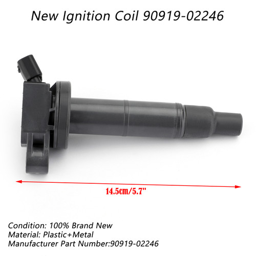 Ignition Coil For Lexus ES330 04-06 RX330 04-05 RX400h 06-09 Black