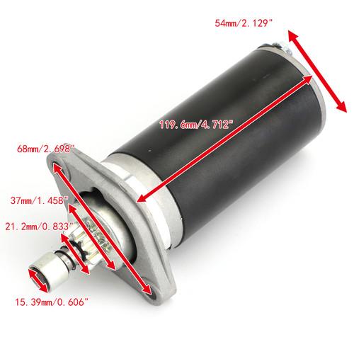 Starter For Yamaha Outboard Motors 15HP 25HP S106-07 6L2-81800 682-81800-11/12 Black