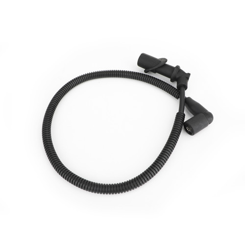 2x Ignition Coil Spark Plug Cap & Wire For Polaris Ranger 700 05-09 Ranger 800 10 Crew 700 09 RZR 800 10 Sportsman 800 05-14 Sportsman 700 04-07