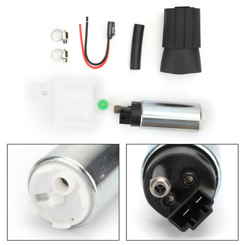 Universal 255LPH High Pressure & High Flow Fuel Pump With Install Kit GSS342