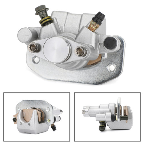 Rear Brake Caliper For YAMAHA ATV RAPTOR 700 06-10 700R 11-12 Silver