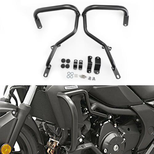 Crash Bars Side Engine Guard Bumper Protector Fit For Honda CTX700N 2014-2018 Black