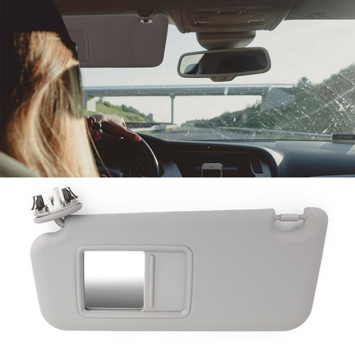 Left Driver Side Sun Visor For Toyota RAV4 2006-2010 Gray
