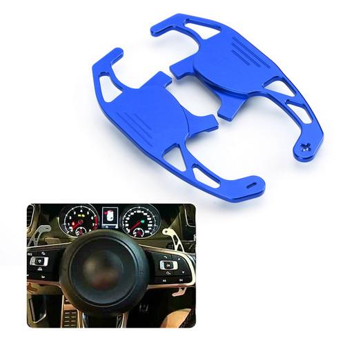 Steering Wheel Shift Paddle Extension For Volkswagen Golf MK7 15-17 Volkswagen Scirocco R 15-16 Blue