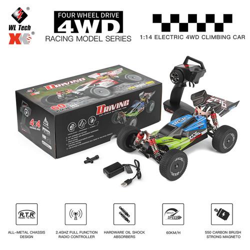 WLtoys 144001 RTR 2.4GHz 60km/h High Speed Drift Racing Car Remote Control Car