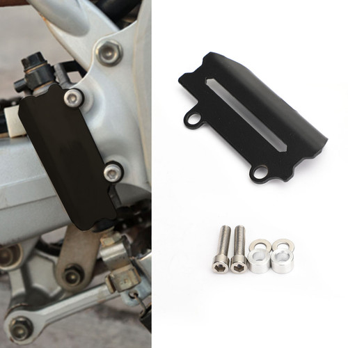 Rear Brake Master Cylinder Guard For Honda CRF250 RALLY 17-19 CRF250M CRF250L 12-19 Black