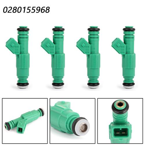 4PCS Fuel Injectors For VW Passat 98-00 Beetle 99-00 Golf 01-06 Jetta 00-05 Passat 01-05 1.8L, 1.8T