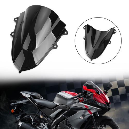 ABS Windshield WindScreen For Yamaha YZF R15 V3 17-19 Black