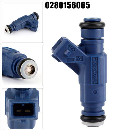 1PCS Fuel Injector 0280156065 For Audi A4 Quattro 1.8L Turbocharged 01-05 A4 01-06 Blue
