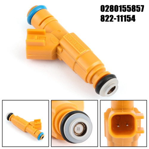 Fuel Injectors 0280155857 For Ford Crown Victoria 99-00 E-350 F-250 Super Duty 99 Yellow