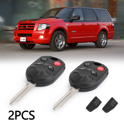 Key Fob OUCD6000022 2PCS For Ford Expedition Taurus Edge Flex Fusion Mustang Focus