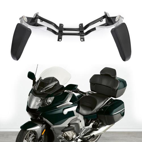 Adjustable Rear Passenger Armrest For BMW K1600GTL 2011-2018 Black