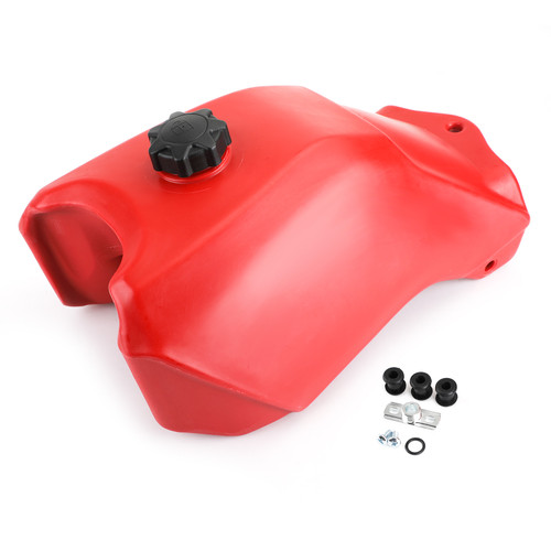 Replacement Plastic Fuel Tank & Gas Cap for Honda TRX300 Fourtrax 300 Models  2WD 88-92