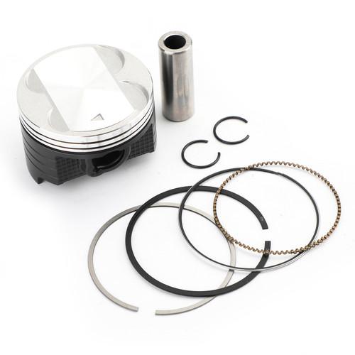 Piston Pin Ringw Kit Bore Size 73.25mm for Suzuki DR250 90-91 DR250R 98-00 DR250S 90-94 DR250SE 95 DRZ250 01-07 AN250 Burgman 250 98-06