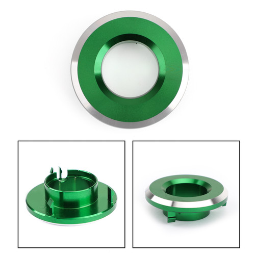 CNC Ignition Key Lock Switch Cap Cover for Kawasaki Vulcan S 650 2015-2019 Green