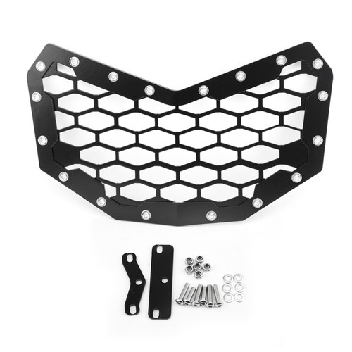 Front Grille Grill for Can-Am Maverick 900 X3T 2016-2019 Black