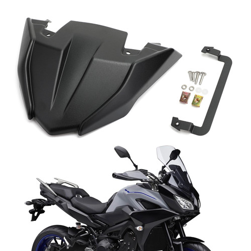 ABS Front Fender Beak Extension For Yamaha MT09 Tracer/GT 2018-2020 Black