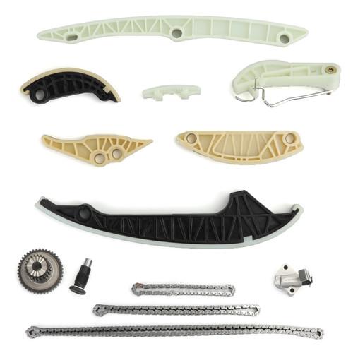 13Pcs Timing Chain Tensioner Kit For Audi A3 08-13 A4 09-15 A5 10-15 A6  12-15 Q5 11-15 TT 09-15