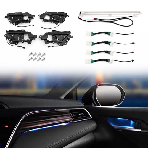 Car LED Special Atmosphere Lamp Decorative Lamp Door Light Fit For Toyota Camry 18-20