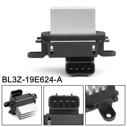 Heater Fan HVAC AC Blower Motor Resistor Control Module Fit For Ford Escape Expedition Explorer 08-16 F-150 250 350 550 Super Duty 08-10
