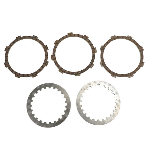Clutch Plate Kit Fit For Yamaha GT80A RD60A TY80A 74 GTMX 73-79 TY50 TY50M 77-78 DT50LC DT50 91-98 MX80 MX80H 81 YSR80 88