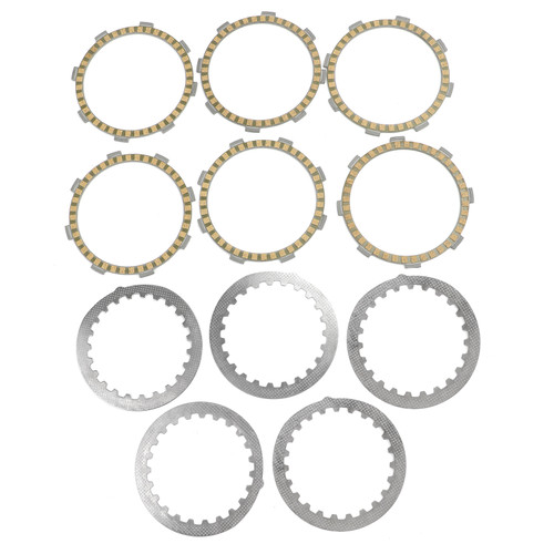 Clutch Plate Kit Fit For Yamaha DT125 DT125R 87 DT125LC DT125L 86-87 RZ125 82/85 RD125LC 86