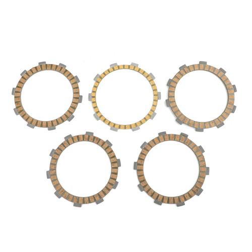 Clutch Plate Kit Fit For Yamaha AG200 1FE 85 AG200E 3GX6 93 BW200 Big Wheel 85-88 YD125 YD125S 89 WR125X 09-16 YZF R125 08-13