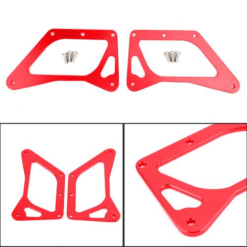 LED Motorcycle Headlight Fog Light Aluminum Fit For Honda MSX125 Grom 13-15 MSX125SF Grom 16-19 Red