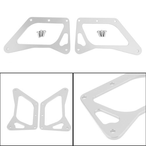 LED Motorcycle Headlight Fog Light Aluminum Fit For Honda MSX125 Grom 13-15 MSX125SF Grom 16-19 Silver